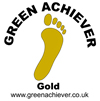 Footprint gold logo (swing tag)